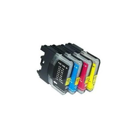ARLC1100C 18ML Brother Compatible LC61C LC980C LC1100C ALTA CAPACITA