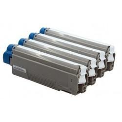 OKIES5460C Ciano compatible for Oki ES2232/ES2632/ES5460MFP-6K 43865731