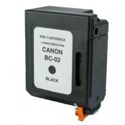 BC-02 20ML Cartuccia Rigenerata Canon BJ 200/230/BJC 150/210-Nera