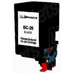 BC-20 38ML Rigenerata Canon BJC 2000/2010/4000- Nera   BC-20 BX-20