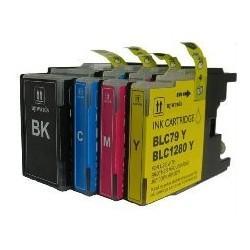 ARLC1280XLBK 30ML Compatible per Brother Mfc J6510DW,J6910DW.LC-1280XLBK